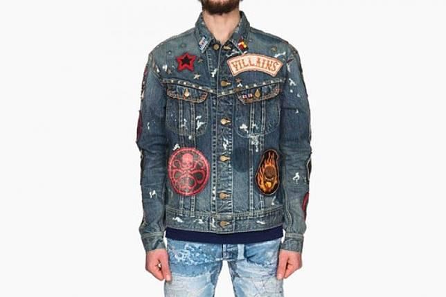 54 Desain Jaket Jeans Keren Terbaik