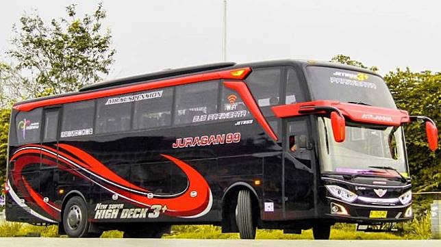 Bus dari PO Juragan 99. (Instagram/juragan99trans)