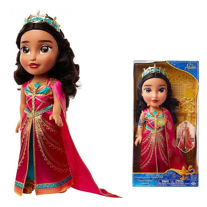 jakks 迪士尼公主娃娃 - 茉莉公主 聲光娃娃 真人版阿拉丁電影