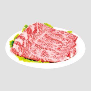 牛焼肉用うす切(ロース肉又は肩ロース肉)