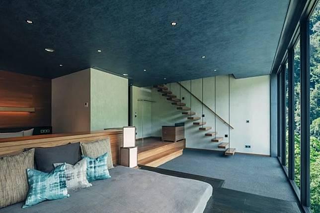 部分房間採用複式設計,空間感十足。(互聯網)