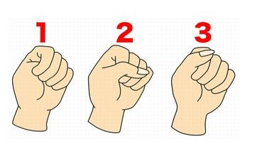 一秒實驗你下意識「握拳方法」 透露出你的性格及戀愛傾向!