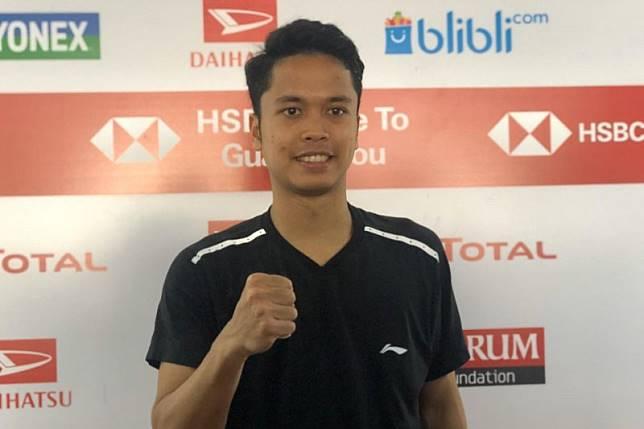 Anthony ke semifinal Indonesia Masters setelah balas kalahkan Huang