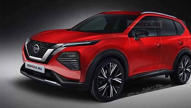Render Nissan X-Trail 2020