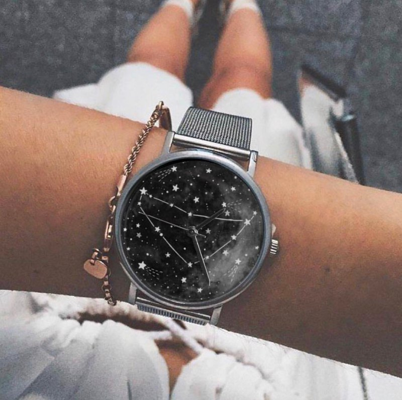CandyCam - 12星座系列 - 客製化DIY手錶•情侶錶推薦