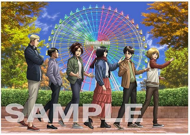 為配合大阪展覽,大會會推出以枚方公園的代表大摩天輪為背景的特別設計的商品。(互聯網)