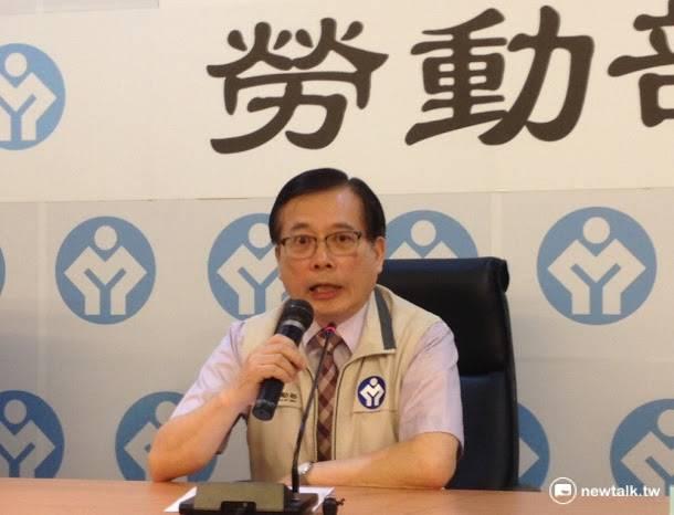 勞動部長郭芳煜8日表示,2017年元旦起基本工資將調至21,009元,基本時薪則分2階段由120元調至133元。圖:周富美/攝