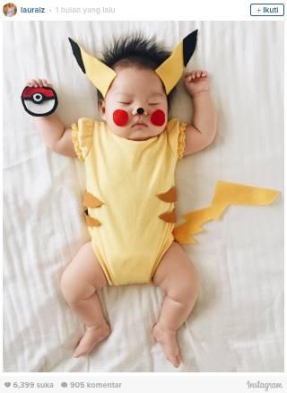 Orangtua Kreatif 11 Cosplay Dibuat Bayi Tidur Artikel Asli 18