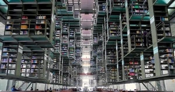 5389d5463994 近未来SFのよう!世界的にも注目されるメキシコの図書館 - LINE NEWS