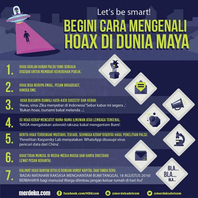 Cara mengenali hoax 2016 Merdeka.com