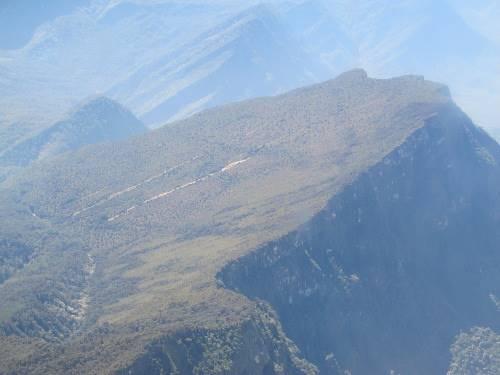 Gunung yang punya bentuk yang unik (Afif/detikTravel)