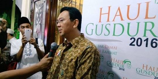 Ahok di Haul Gus Dur ke 7. ©2016 Merdeka.com