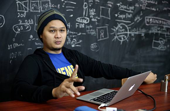 Andre Prodjo, CEO MCI  Foto: Ari Saputra/detikcom