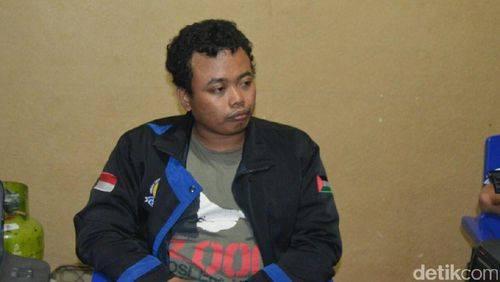 Nur Solihin/ Terduga teroris yang ditangkap di kalimalang