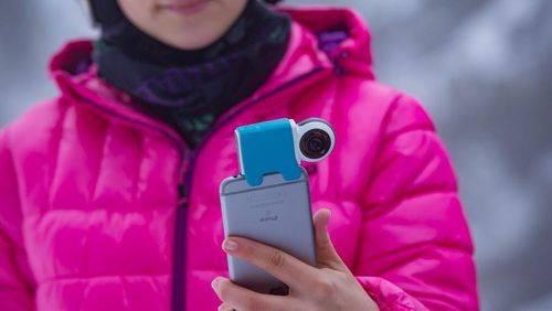 Giroptic iO, Kamera 360 untuk iPhone