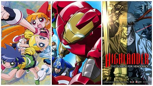 5 Anime Yang Diadaptasi Dari TV Series Dan Kartun Amerika Ada Kalian Suka