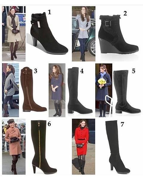 Sepatu Boots Kate Middleton - Mau Tahu Harga Alas Kaki Sang Ratu? Harganya Bikin Melongo Guys!