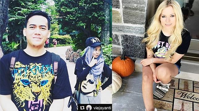 Biz&Tech : Avril Lavigne Repost Foto Instagram Pasutri Asal Indonesia Ini Lho! Beruntungnya,