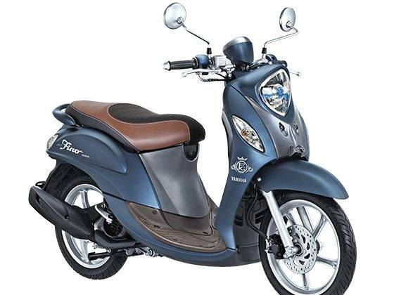 Biz&Tech : varian tertinggi Yamaha seri Fino 125 Blue Core Fino Grande,