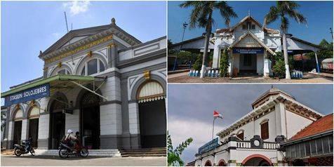 News : Arsitektur 8 Stasiun di Pulau Jawa Asli Belanda Kuno dan Unik,