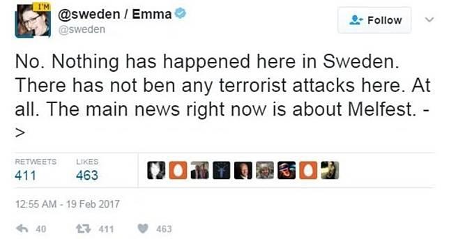 Apa yang Terjadi Semalam? Pidato Trump Buat Bingung Rakyat Swedia