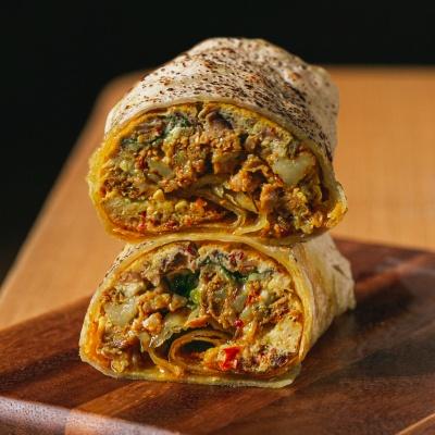 ลดพิเศษ! เมื่อสั่ง  Messy omelette wrap Delivery