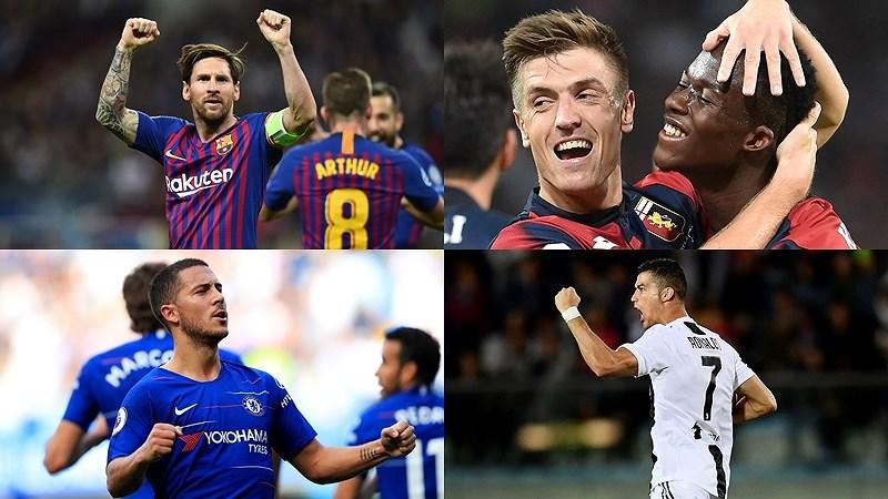 """Cuộc đua """"Chiếc giày Vàng"""" châu Âu 18/19: Ronaldo bứt phá ngoạn mục - ảnh 1"""